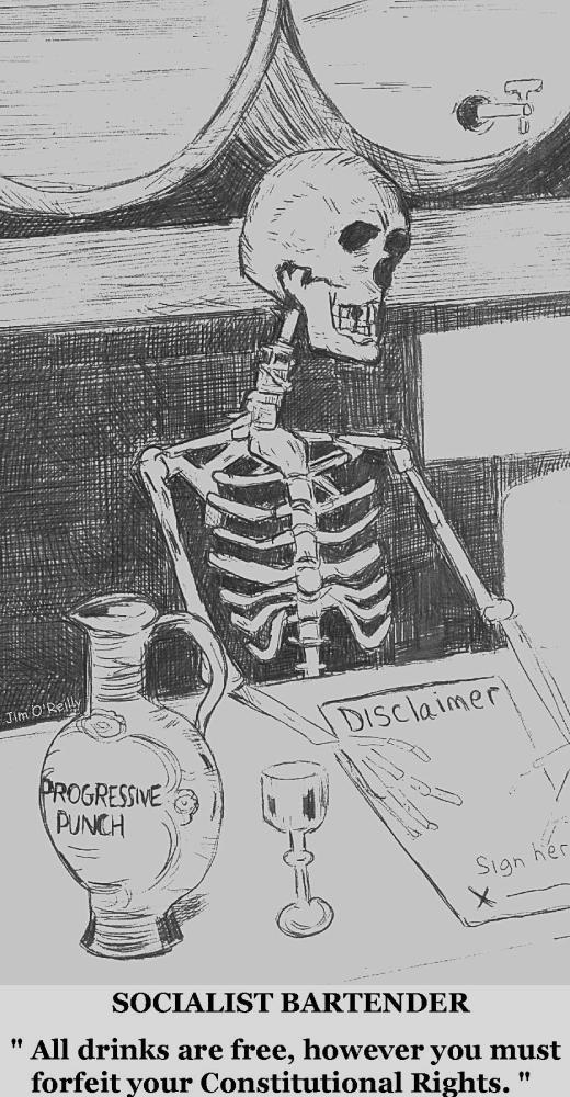 DARK bartender